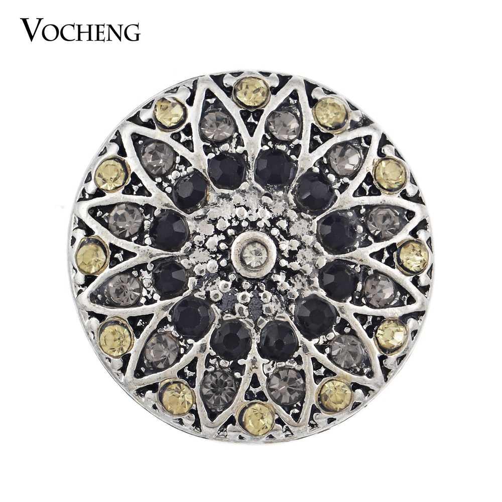 Vocheng Snap Charms 18mm wymienne kryształ biżuteria Vn-182