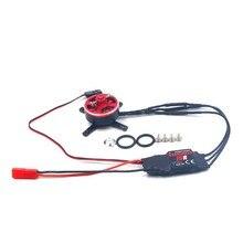 1 PCS 2403 Motor 2-3 S 15A ESC Brushless 1800KV Motor 1500KV Motores de Asa Fixa para RC Quadcopter Conector do Eixo zangão