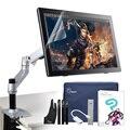 """Parblo Coast22 21.5 """"arte Dibujo Gráfico Monitor CLIP ESTUDIO PAINT PRO (Manga Studio) + Plegable LCD Monitor Desk Montaje Soporte"""