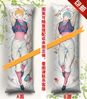 MMF Hunter x Hunter anime characters Hisoka & Kurapika & GON FREECSS & Kulolo pillow cover HxH body Pillowcase Dakimakura
