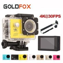 GOLDFOX Wifi Action Camera 4K 30FPS 30M Waterproof Go Diving Pro Sport Mini DV 1080P/60fps Bike Helmet Video Camera Car DVR