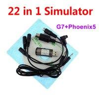 Alta qualidade 22 em 1 simulador 22in1 usb rc simulação para apoio g7.5 g7 g6.5 g5 flysky FS I6 th9x phoenix5 realflight Peças e Acessórios     -