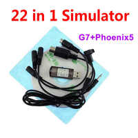High Quality 22 in 1 Simulator 22in1 USB RC Simulation for Realflight Support G7.5 G7 G6.5 G5 Flysky FS-I6 TH9X Phoenix5