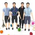 3 Компл. Мужчины Прохладный Повседневная Одежда Костюм Принц Мода Носить Наряд друг Кен Кукла Лучший Подарок Игрушки Куклы Аксессуары Детские Игрушки Творческий