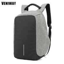 Multifunction USB Charge Fashion Backpack 15′ Waterproof Laptop Rucksacks Male Mochila For XD City Anti-theft Design Backpack