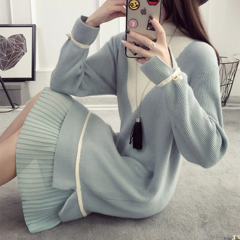 Pregnancy Dress Maternity Nursing Sweater Long Sleeved Autumn And Winter Feeding Lactation Clothes For Pregnant Women maternity spring and autumn 2016 models long sleeved loose cardigan sweater pregnant women