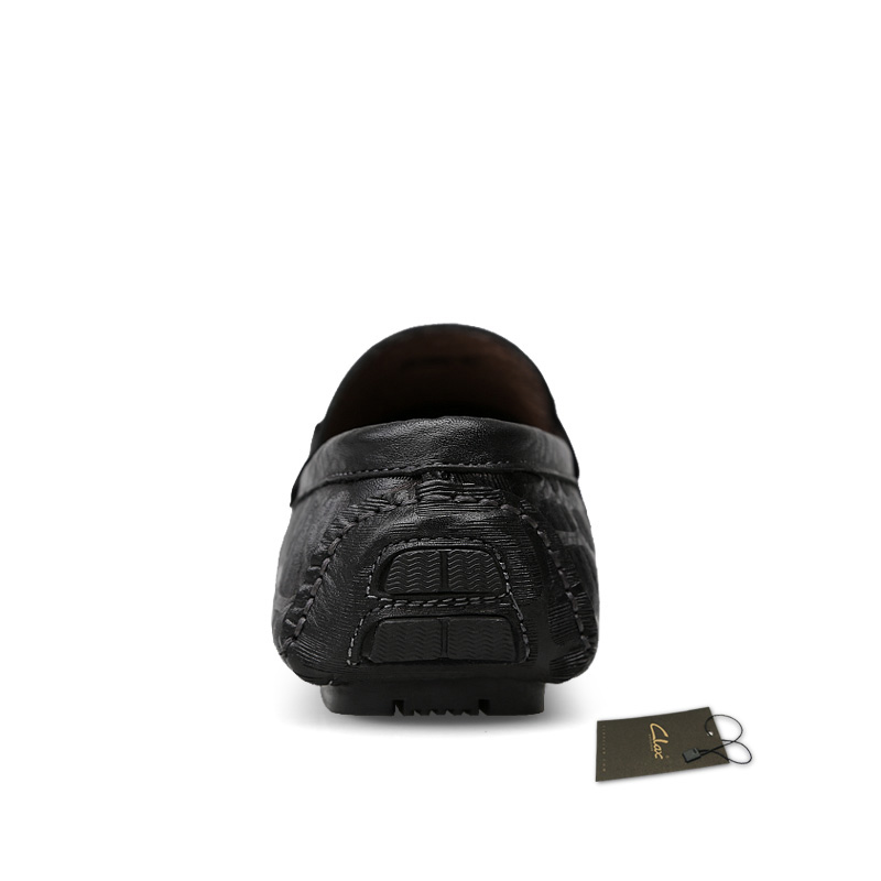 Respirável Mocassins Sapatos Masculinos Mans De Barco Couro Homens Dos Macios Primavera Sapato brown Black 2019 Clax Verão Casuais Genuíno Z7fRxnf