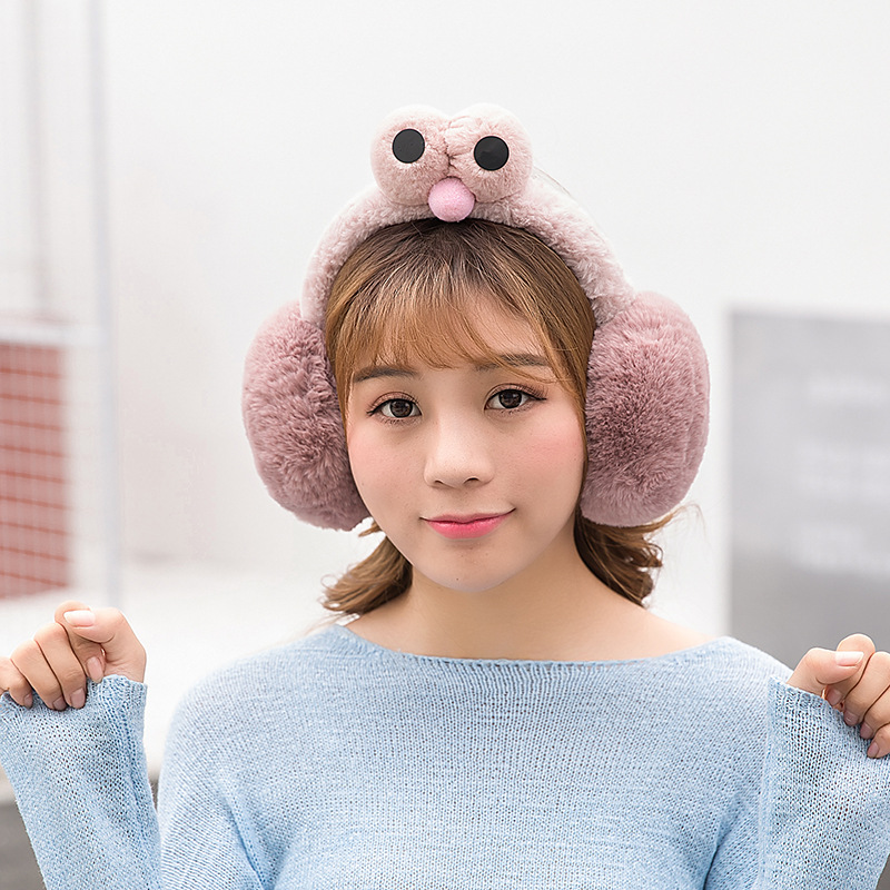 Winter Earmuffs Faux Fur Earmuffs Plush Ear Multi-colored Woman Child Thermal Fur Eamuffs Cute Girl Cute Earmuff