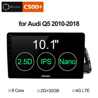 Ownice C500+ G10 10.1 inch Android 8.1 8Core Car GPS PC for Audi Q5 2010 2011 2012 2018 Support 4G sim DAB TPMS Radio Players