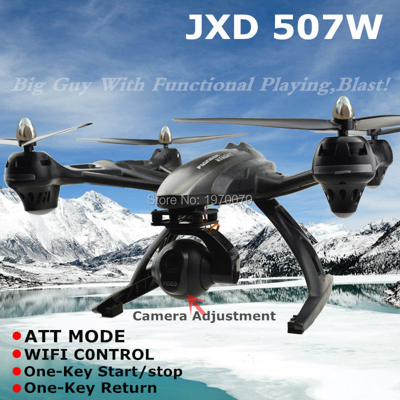 Newest <font><b>JXD</b></font> 507W Much Bigger than <font><b>509W</b></font> 2.4G Transmitter Rc Quadcopter Drone 2MP Camera With ATT Mode Support Phone Wifi Control