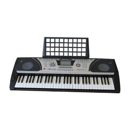 61 Keys Electronic Electric Keyboard Piano Organ With Touch Response Function LCD Display Screen Dual-Keyboard Teaching-Type zebra musical instruments keyboard instruments piano sw 37k 37 keys melodica mouth organ with handbag