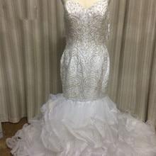 Gardlilac Luxurious Mermaid Wedding Dresses Court Train