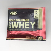 ON Optmont gold standard whey protein powder, fitness strengthening muscle WHEY 1 bag of 30g Free shipping