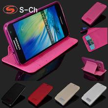 For Samsung Galaxy A3 SM-A300 SM-A300F 2015 FU Elegant Phone CaseS-Ch Soft TPU Card Slots Stand