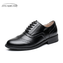 2015 England Women Oxfords Oxford Shoes For Women men Shoes  Bullock Carved Vintage retro classic Shoes large size free shipping стоимость