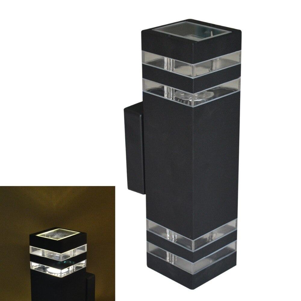 lampada led iluminacao de parede ao ar livre moderna ac85 265v a prova dwaterproof agua ip54