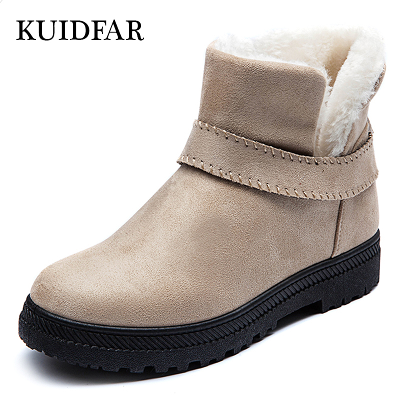 KUIDFAR New Arrival Women Boots winter boots Fashion Warm Snow Boots Ladies ankle boots women shoes 2015 new arrival fashion women winter snow boots warm ladies shoes bowtie slip on soft cute shoes purple color sweet boots