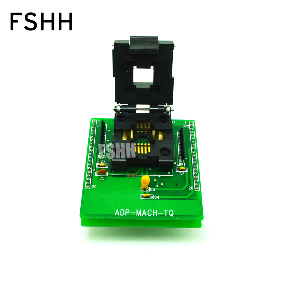 ADP-MACH-TQ Adapter For ALL-11 Programmer Adapter IC51-0444-467 QFP44 To DIP40 Programmer Adapter