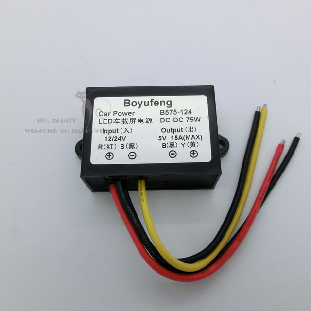 US $12 0  Voltage Regulator 12V to 5V, 24V to 5V Car power supply converter  Dc voltage stabilizer DC DC voltage regulator module on Aliexpress com  