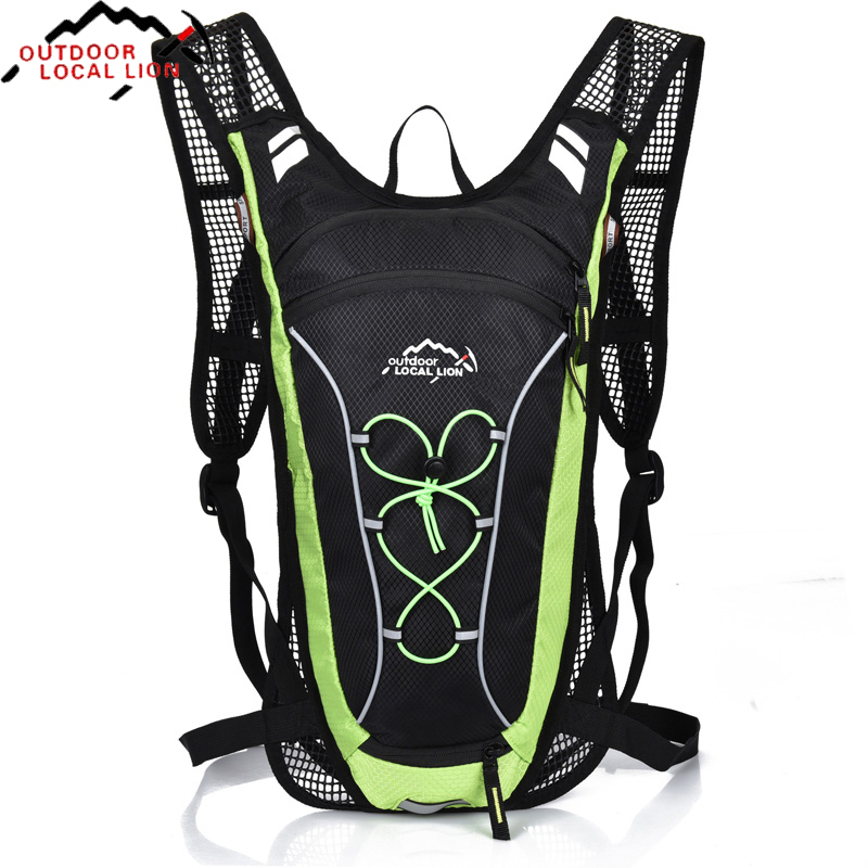 Bicycle Bags Breathable Cycling Bike Running Backpack Ultralight Water bladder Outdoor Bags Sports Riding Travel backpacks bicycle bag camping sport riding backpack 2017 mtb outdoor equipment suspension breathable backpacks cycling bike shoulder bags