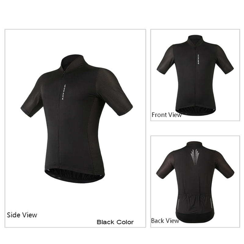 WOSAWE Cycling Jersey Short Sleeve Quick Dry Breathable Jerseys Summer  Mountain Bike Bicycle Clothing Racing Wear Shirt-in Cycling Jerseys from  Sports ... 241b962d7