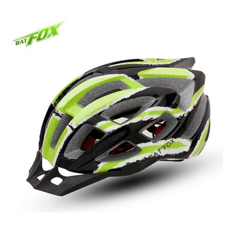 BATFOX Integrally molded font b Bicycle b font font b Helmet b font EPS PC Breathable