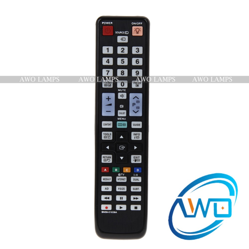 New Replacement Remote Control For Samsung BN59-01039A 3D DVD Smart TV Controller Hot Worldwide ...