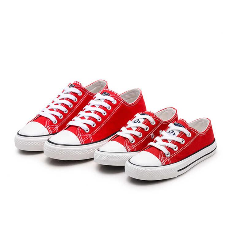 เด็กคลาสสิกผ้าใบรองเท้ารองเท้าเด็กหญิงรองเท้ารองเท้าผ้าใบ Tendon รองเท้าสีขาวรองเท้าเด็กยาง sole รองเท้าผ้าใบเด็กวัยหัดเดิน