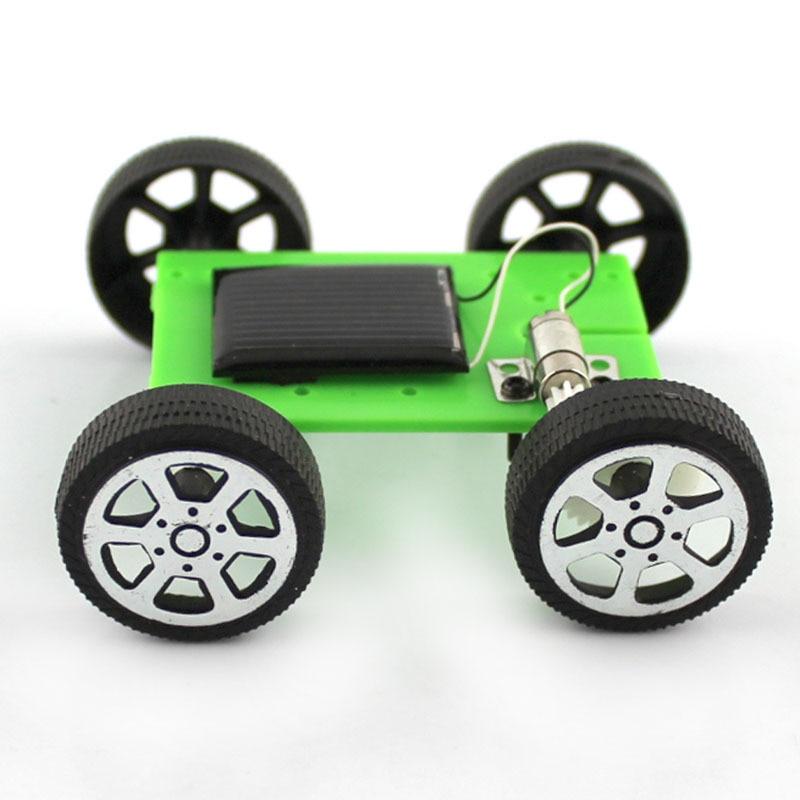 New Kids Solar Toys Energy Crazy Mini Solar Powered Toy DIY Car Solar Power Robot Kit Children Educational Gadget Hobby Funny