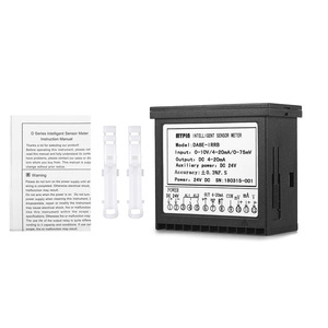 Image 5 - Multi functional DC 24V Digital LED Display Sensor Meter with 2 Relay Alarm Output and 0~10V/4~20mA/0~75mV Input