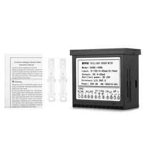 Image 5 - Đa chức năng DC 24 v Kỹ Thuật Số LED Hiển Thị Cảm Biến Meter với 2 Báo Động Tiếp Sức Đầu Ra và 0 ~ 10 v/4 ~ 20mA/0 ~ 75mV Đầu Vào