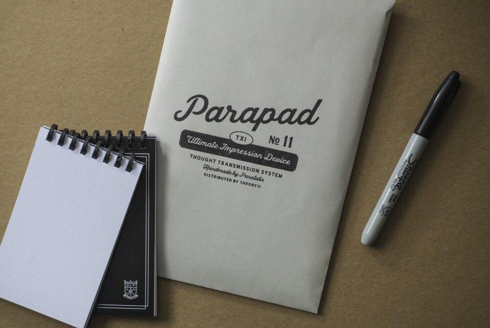 ParaPad (l'original) mentalisme tours de Magie magicien professionnel prédiction Magie gros plan Illusions Gimmick Magia jouets blague