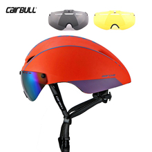 CAIRBULL 3 Free Goggles Ultralight MTB Road Bicycle Bike Cycling Helmet Mountain Bike Men Equipment Size: 54-60CM