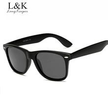 Long Keeper Brand Unisex Retro Polarized Sunglasses Men Women Vintage Eyewear Accessories Black Grey Sun Glasses For Male/Female