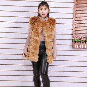 Women fur vest coats large Padded coat jackets manteau fausse fourrure woman fausse fourrure Faux fox fur vests Windbreaker 3XL фото