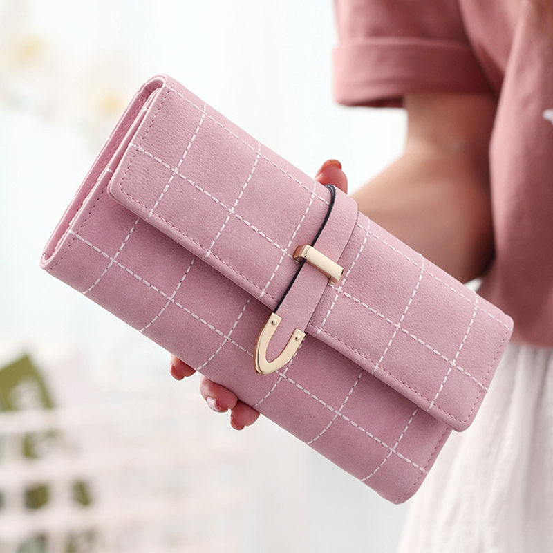 2018 New Women Wallets Female Leather Purses Large Capacity Coin Card Holders Fashion Ladies Wallet Clutch Long Design Carteras 3