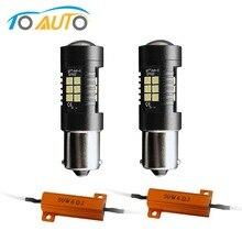 2 шт. Canbus 1156 BA15S P21W светодиодный R5W R10W BAU15S PY21W BAY15D светодиодный лампы 1157 P21/5 Вт ошибок освещение авто лампы 12V