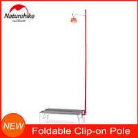 Naturehike Outdoor Camping Ausrüstung Faltbare Clip-auf der Pole mit Haken-ideal für hängen camp laterne Solar Lichter Picknick lampen