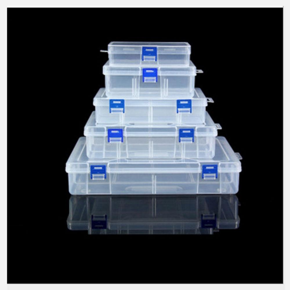 Case Screw-Holder Storage-Box Display Organizer Jewelry Compartment Adjustable Plastic