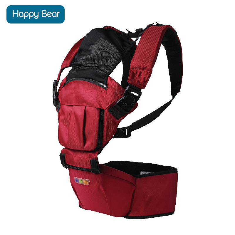 HappyBear Fashion Baby Carrier Hipseat Baby Backpack Ergonomic Carrier Multifunctional Baby Wrap Slings for Babies 1509 ergo baby carrier performance