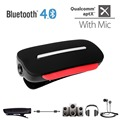 Avantree aptX 2-in-1 Bluetooth 4.0 Headphone Receiver and In-ear Style with Built-in Mic Support 3.5mm Audio Devices-CLIPPER