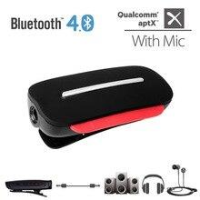 Avantree aptX 2-en-1 Bluetooth 4.0 Casque Récepteur et Style In-Ear avec Micro Intégré Soutien 3.5mm Audio Dispositifs-CLIPPER