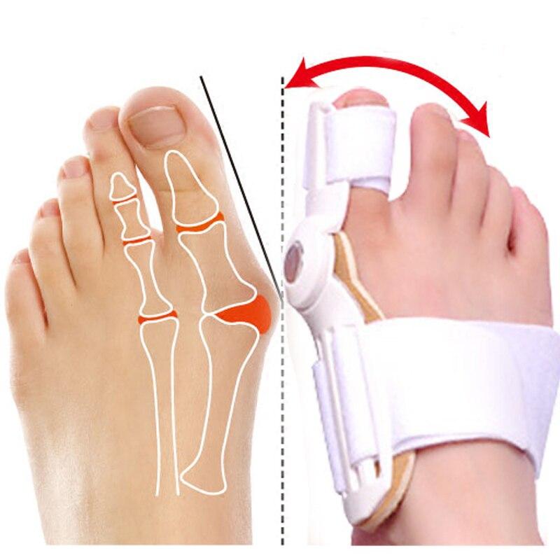 PUTIMI 1 Pcs Toe Corrector Hallux Valgus Separator Foot Pain Relief Feet Care Bunion Corrector Splint Orthotics Pedicure Tools