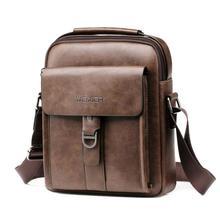Men Leather Shoulder Bag Classic Brand Men Bag