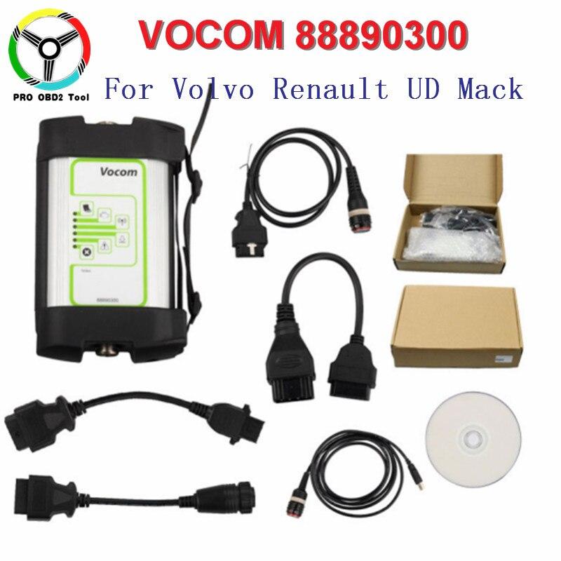 Online Update For Volvo 88890300 Wifi Vocom Interface For Volvo/Renault/UD/Mack/Truck Diagnostic Tool For Volvo Vocom 88890300