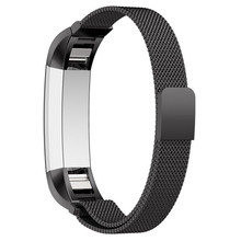 Durable Brand New and high quality Milanese Magnetic Loop Stainless Steel Band For Fitbit Alta Smart Watch