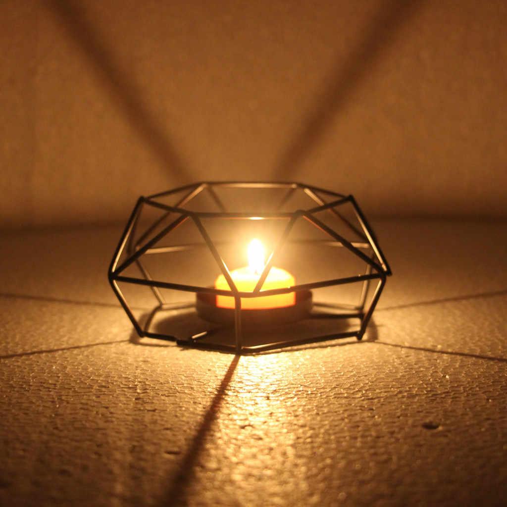 Подсвечник Ретро Железный Чай держатель свечей лампа-подсвечник Фонарь домашний декор Прямая доставка 19 Мар 11 подсвечник