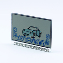 Russia version A6 Lcd display for starline A6 lcd two way ca