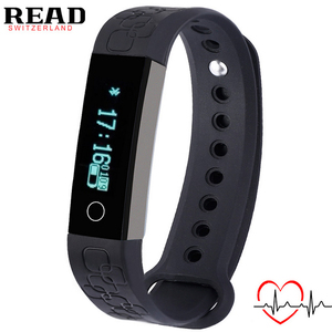 New Sports Smart Bracelet for Android for Apple Alarm Heart Rate Monitor wrist band Bluetooth Sleep Monitor Smart Watch