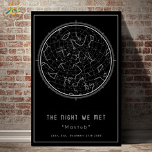 Black Map Graphic Circle Art Maktub Nordic Poster Painting Decoratio Wall Art Canvas Poster Scroll Painting Print Wall Poster постер poster art 50305025 мдф